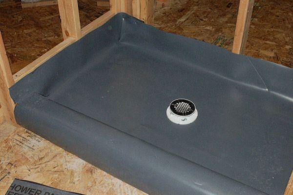 Shower Pan Pvc Liner Complete Shower Pan Liner Shower Pan Shower Pan Tile