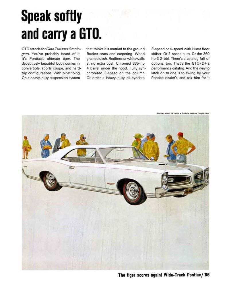 GTO Ad | <<Vintage Car Ads>> | Pinterest | Ads, Cars and Definition ...