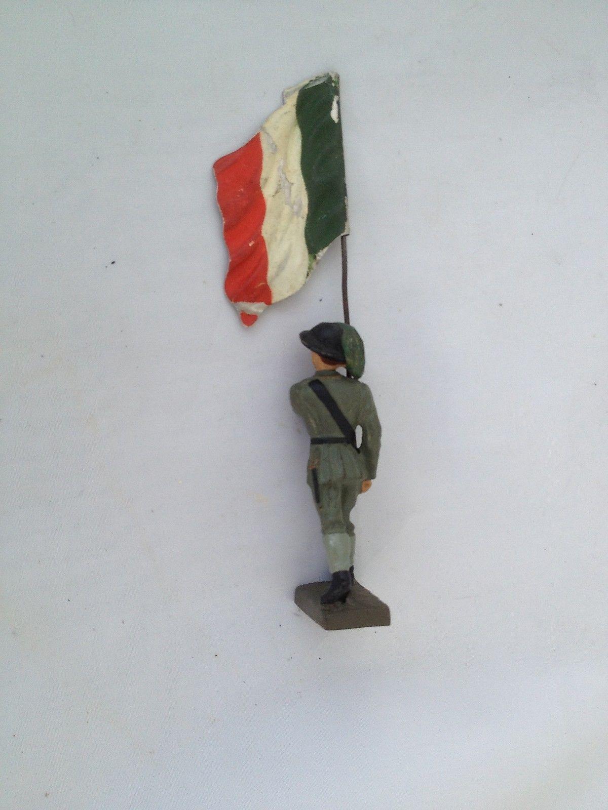 A211/ Lineol Figur Italienischer Fahnenträger von ca. 1935 / Italien   eBay
