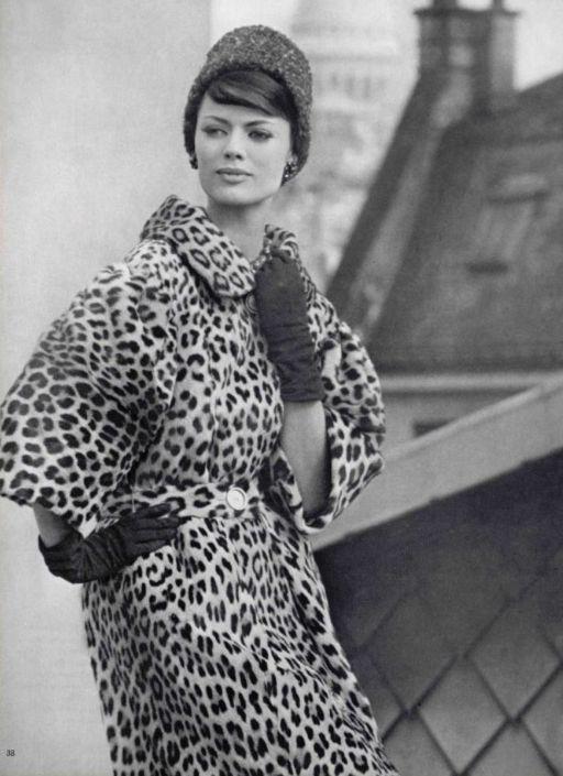 Vintage Leopard Print Fashion Vintage Fashion Photography Animal Prints In Fashion
