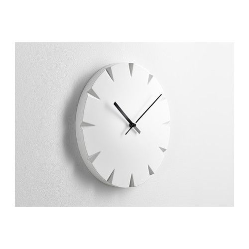 Vattna Wanduhr  Ikea  Ideen Rund Ums Haus  Pinterest  Wall Amazing Small Wall Clock For Bathroom Review