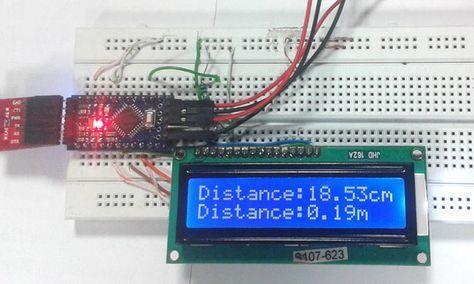 Arduino Based Distance Measurement Using Ultrasonic Sensor Arduino