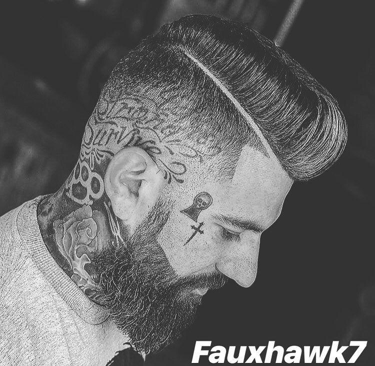 Fauxhawk Hairstyle On Instagram Credit Guimaraesclayton