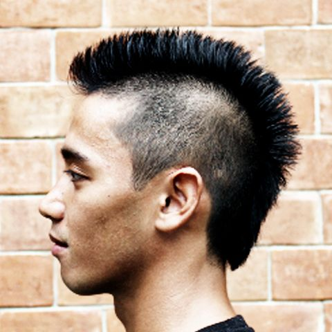 Native American Mohawk Hairstyle - which haircut suits my face