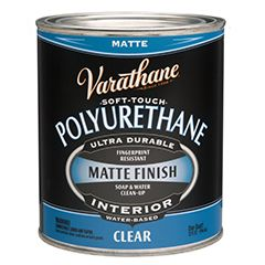 Varathane Soft Touch Polyurethane Is An Acrylic Polyurethane Formulated To Provide A Soft Smooth Feel To The C Painting Ceramic Tiles Varathane Painting Tile