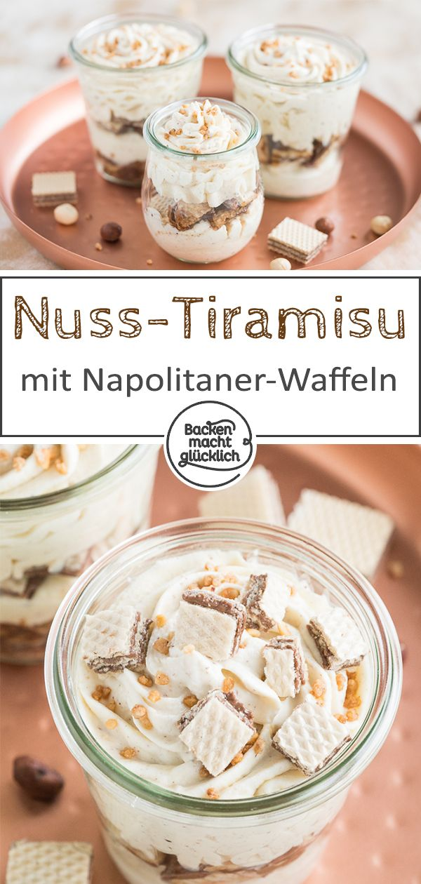 Haselnuss-Tiramisu #dessertrecipes