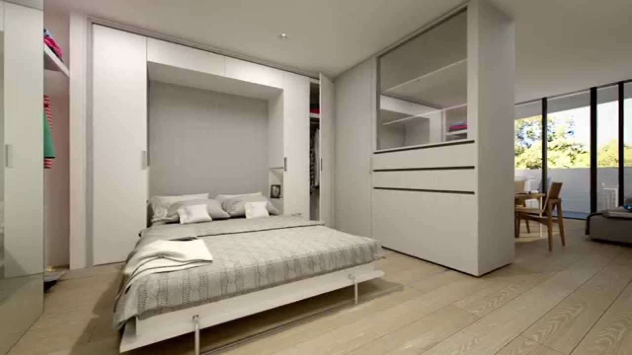 Convertible Spaces Sanctuary Apartments Example Of How Movable Walls Transform A Space And Make It Multifunc Movable Walls One Bedroom Apartment Tiny Spaces