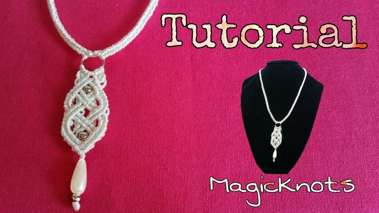 Macrame Celtic Necklace - Pendant  ♥ DIY ♥