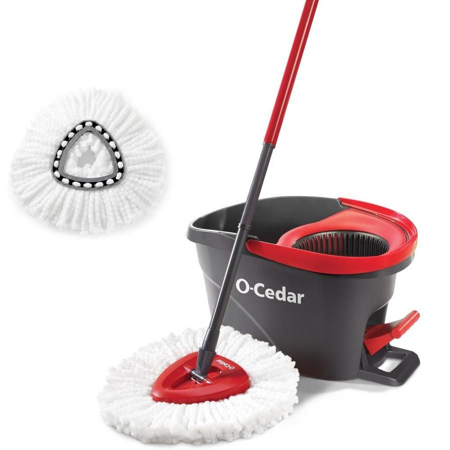 O Cedar Spin Mop With Bucket 161834 In 2020 Spin Mop Microfiber