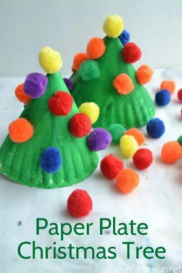 Christmas craft manualidades navideñas Pinterest Navidad