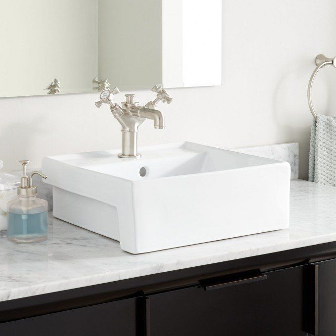 Valor Oval Porcelain Vessel Sink - Bathroom Sinks - Bathroom - Vessel Sinks Bathroom