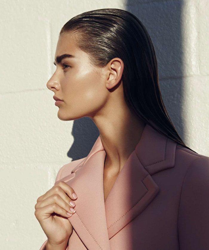 Ophélie Guillermand Goes Day To Night In Nagi Sakai Images For Harper's Bazaar Spain August2015
