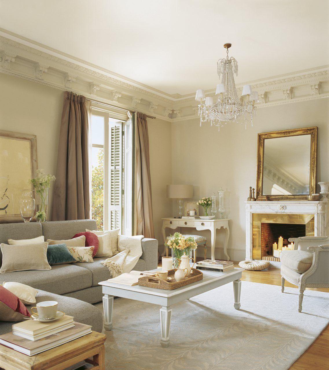 12 ideas para crear un sal n m s acogedor salas modernas - Complementos decoracion salon ...