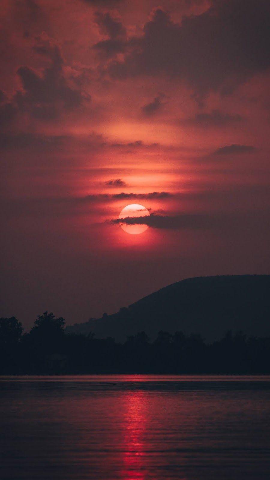 Sunset Before The Night Sunset Wallpaper Sunset Landscape Sky Aesthetic