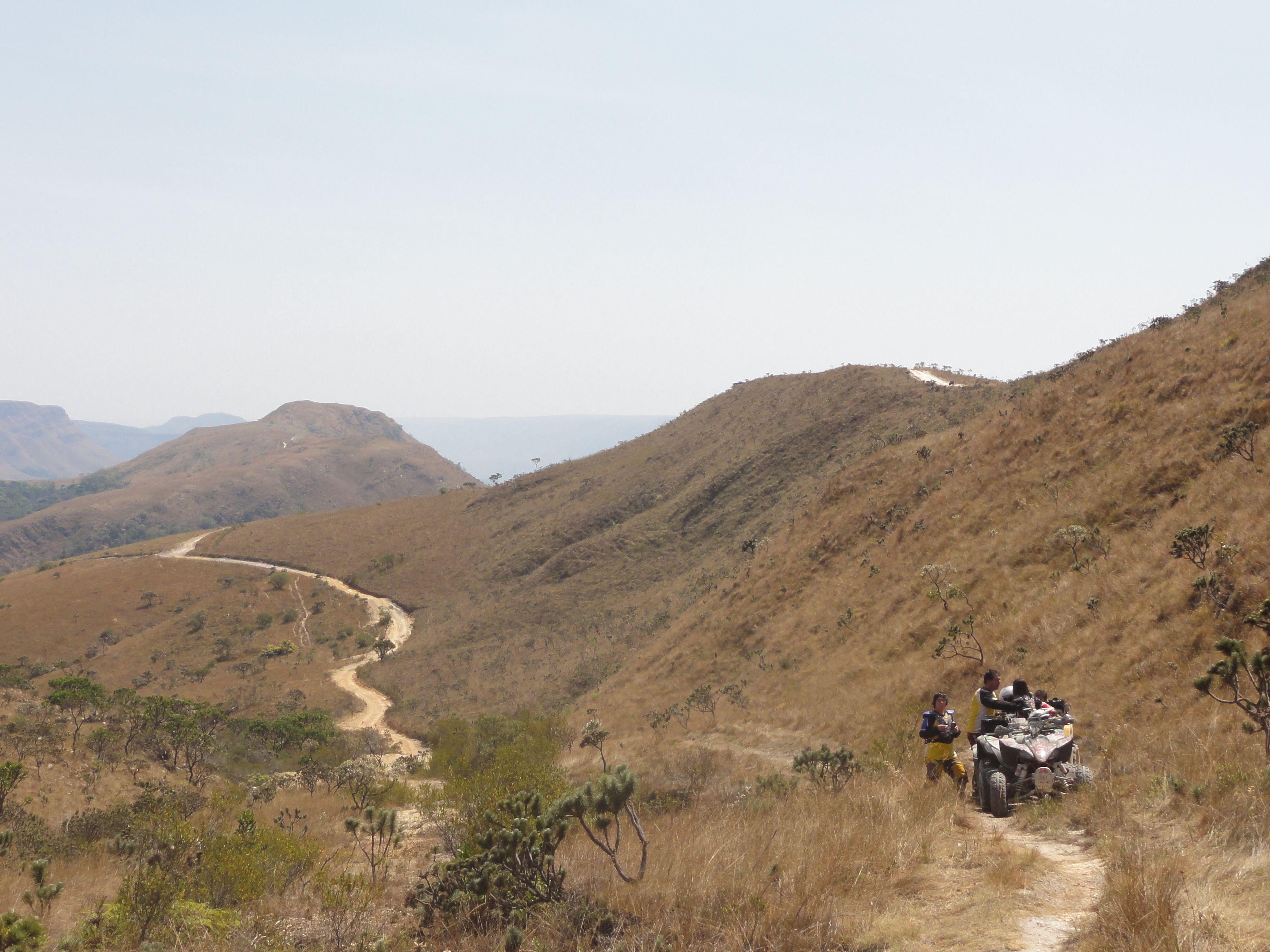Trilha na Serra da Canastra