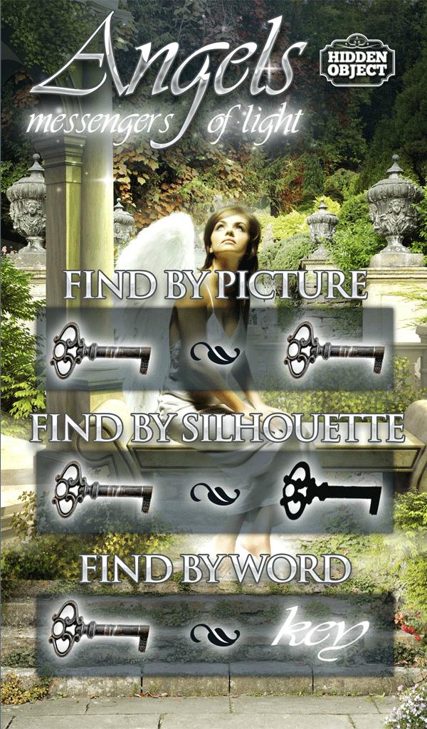 Hidden Object Angels Messengers of Light Object,