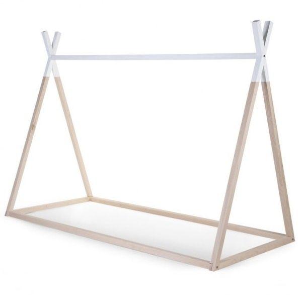 Estructura de cama Tipi - 90 x 200 cm | Camas, Madera y Muebles ...