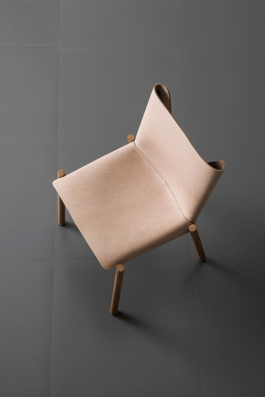 Kristalia Leather and Wood Chair | | FURNITURE | | Pinterest ...