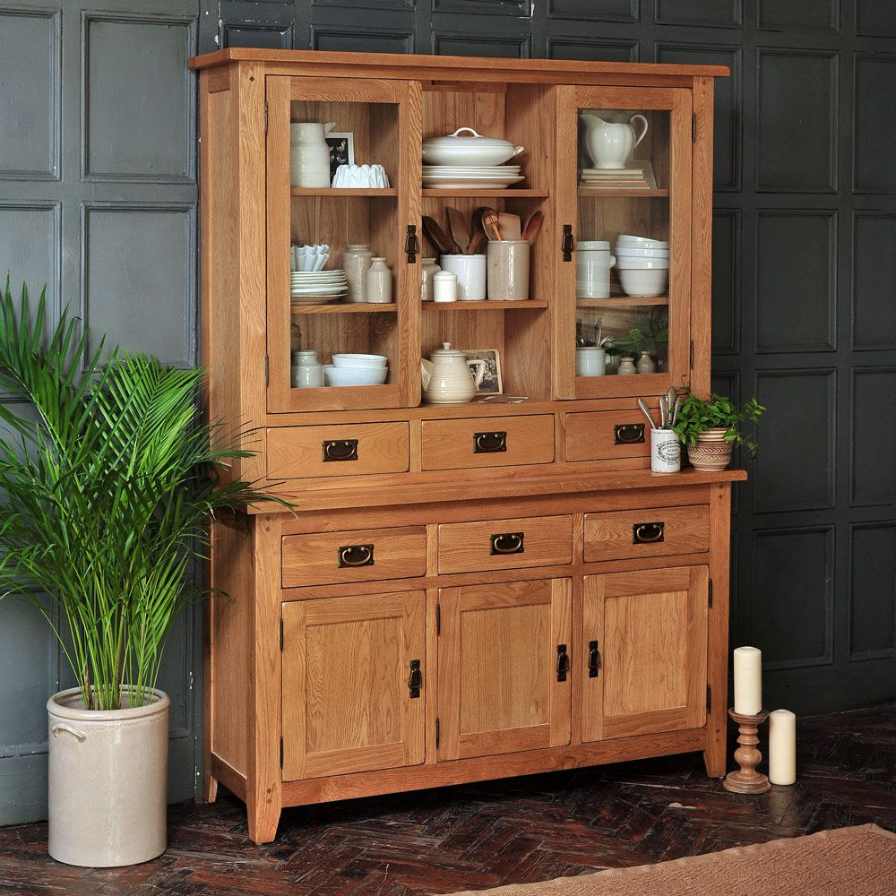 Best Kitchen Dressers Oak Solid Wood And White Dressers 400 x 300