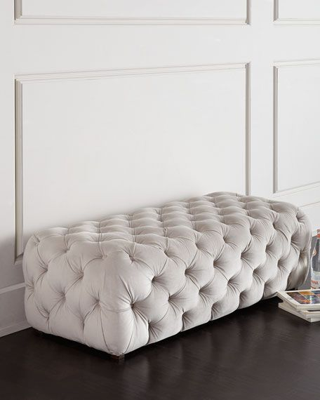Grace Tufted Bench Tufted Bench Furniture Home Furniture
