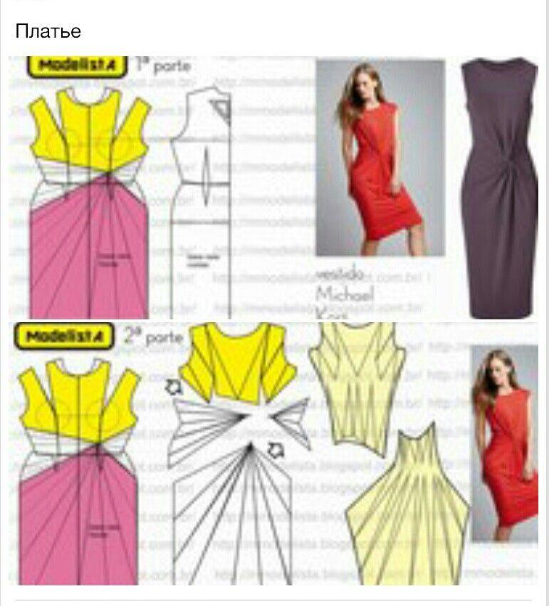 Drapeado | patrones costura | Pinterest