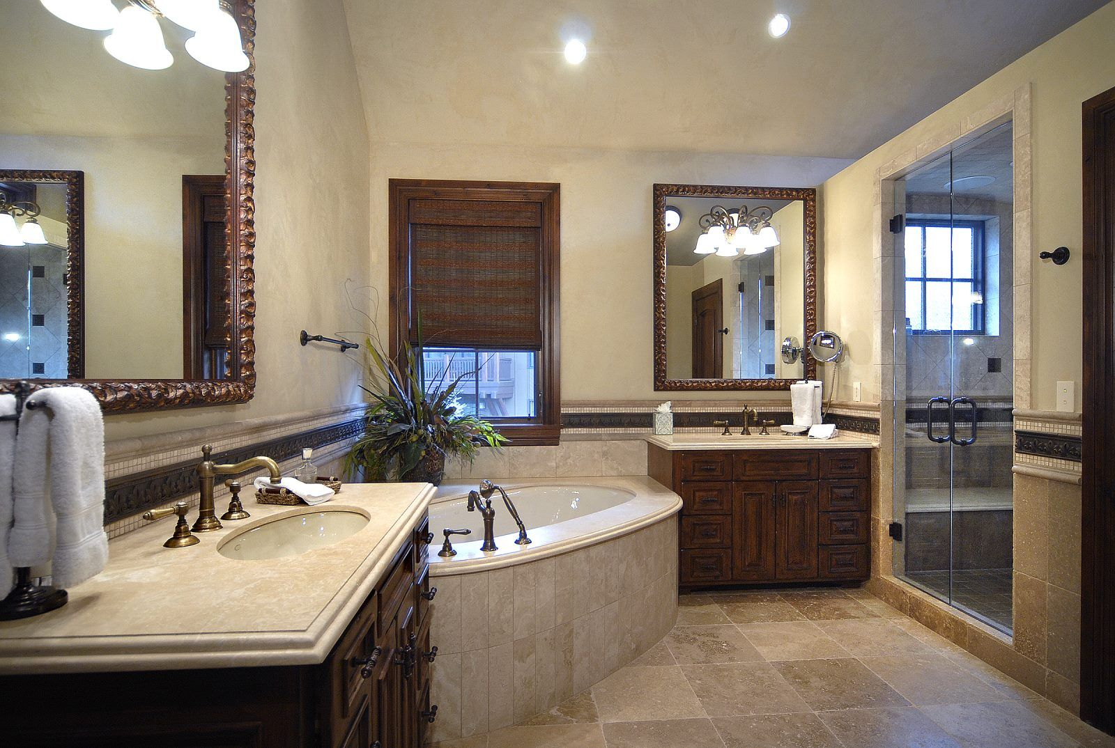 Master Bathroom.  Aspen Highlands, Thunderbowl Townhome, Luxury Vacation Rental Exclusively offered by Aspen Signature Properties