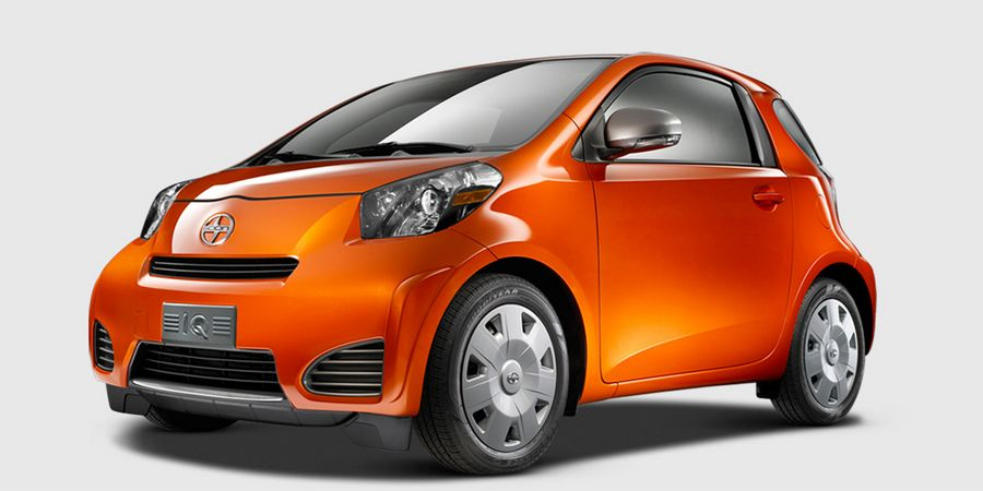 See The All New 2017 Scion Iq Car Compared To