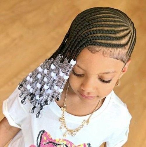 Awesome Cornrows For Little Girl Lil Girl Hairstyles Hair Styles Natural Hairstyles Runnerswayorg