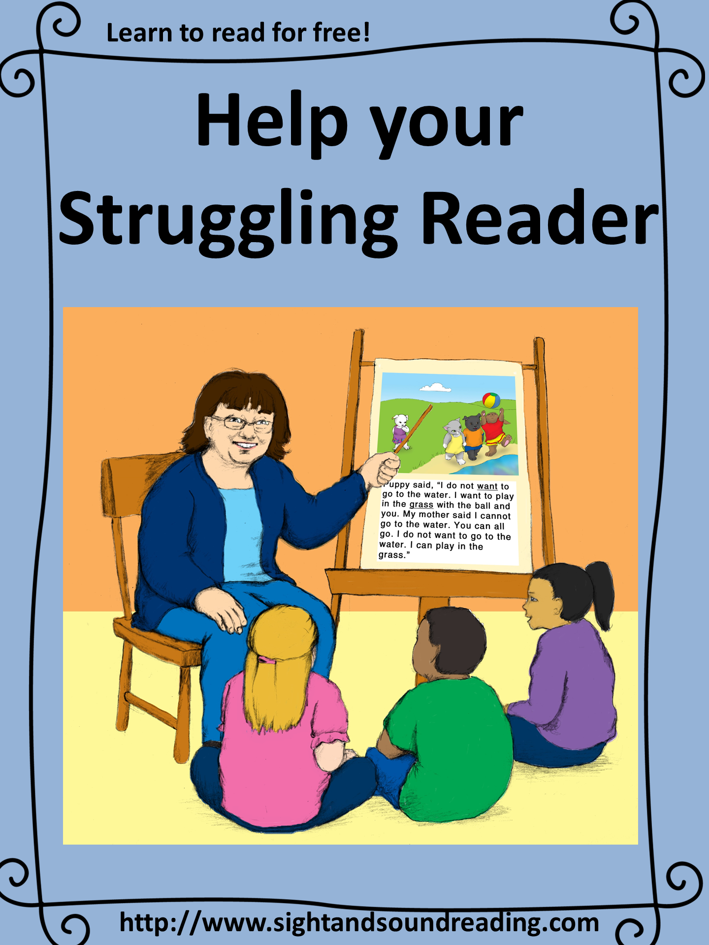 How To Help A Struggling Reader