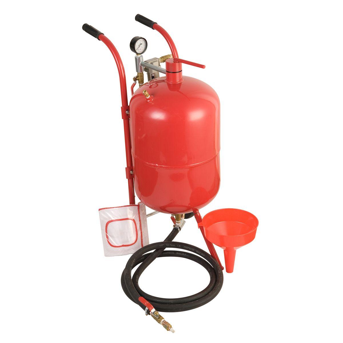 110 Lb Pressurized Abrasive Blaster In 2020 Abrasive Blaster Pressure Tanks Harbor Freight Tools