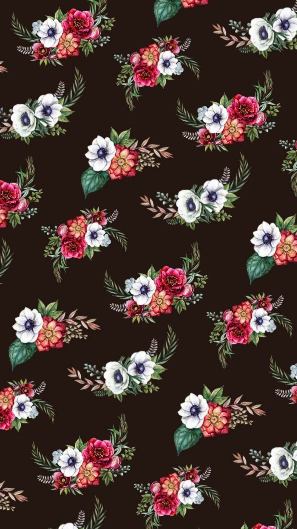 Pin By Tew Witty On Florzinha 2 Vintage Flowers Wallpaper Flower Background Wallpaper Flowery Wallpaper
