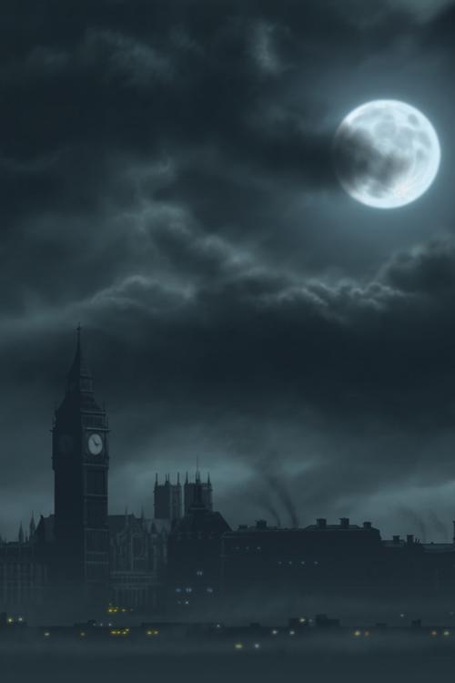 Lost Moonlight London Night Baby Full Moon Pictures London Wallpaper Landscape Scenery