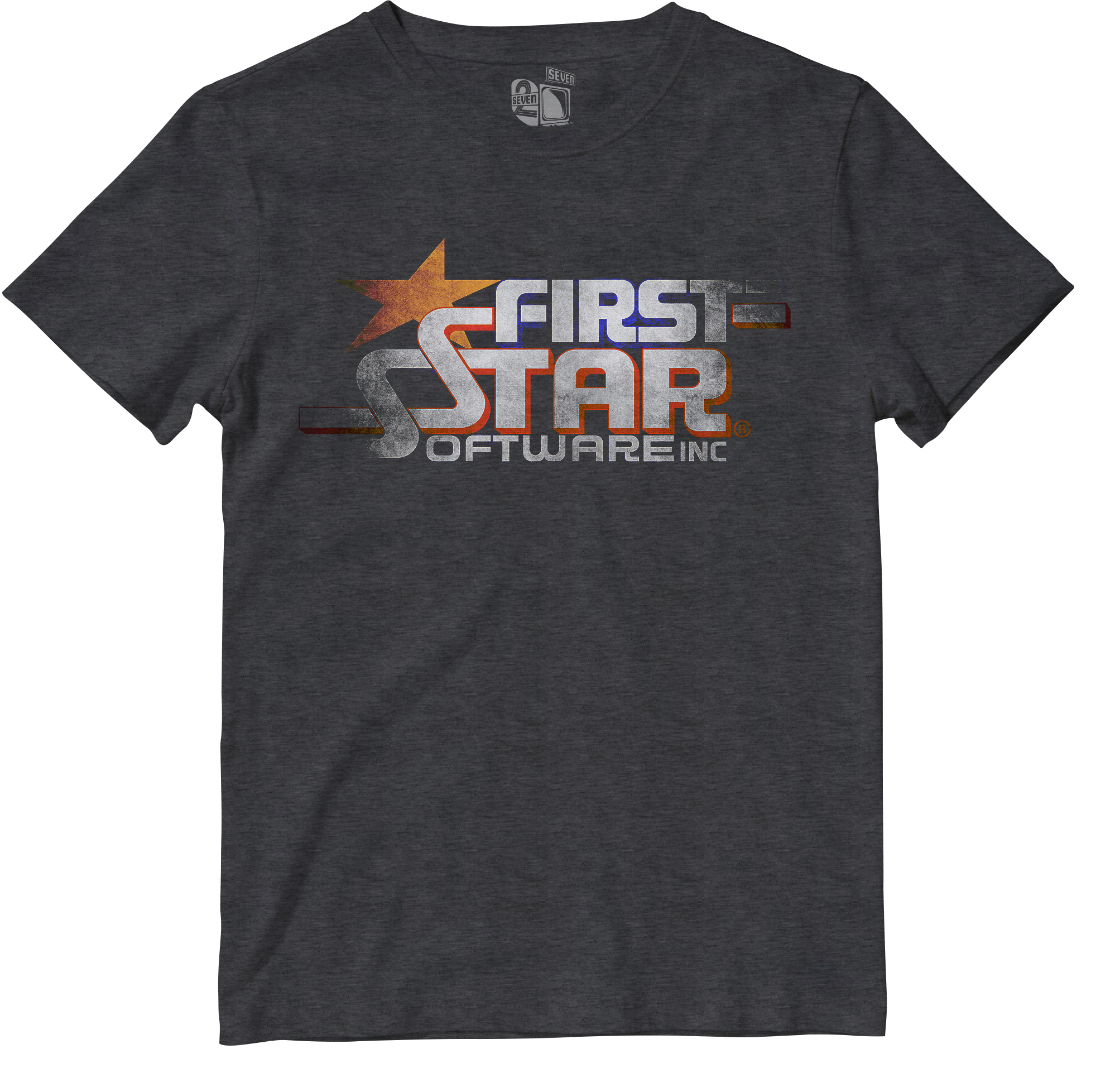 First Star Software Retro Gamer Tee Gamers tees