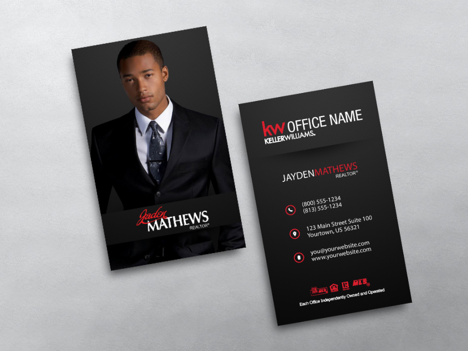 Order KW Business Cards | Free Shipping | Design Templates | Keller ...