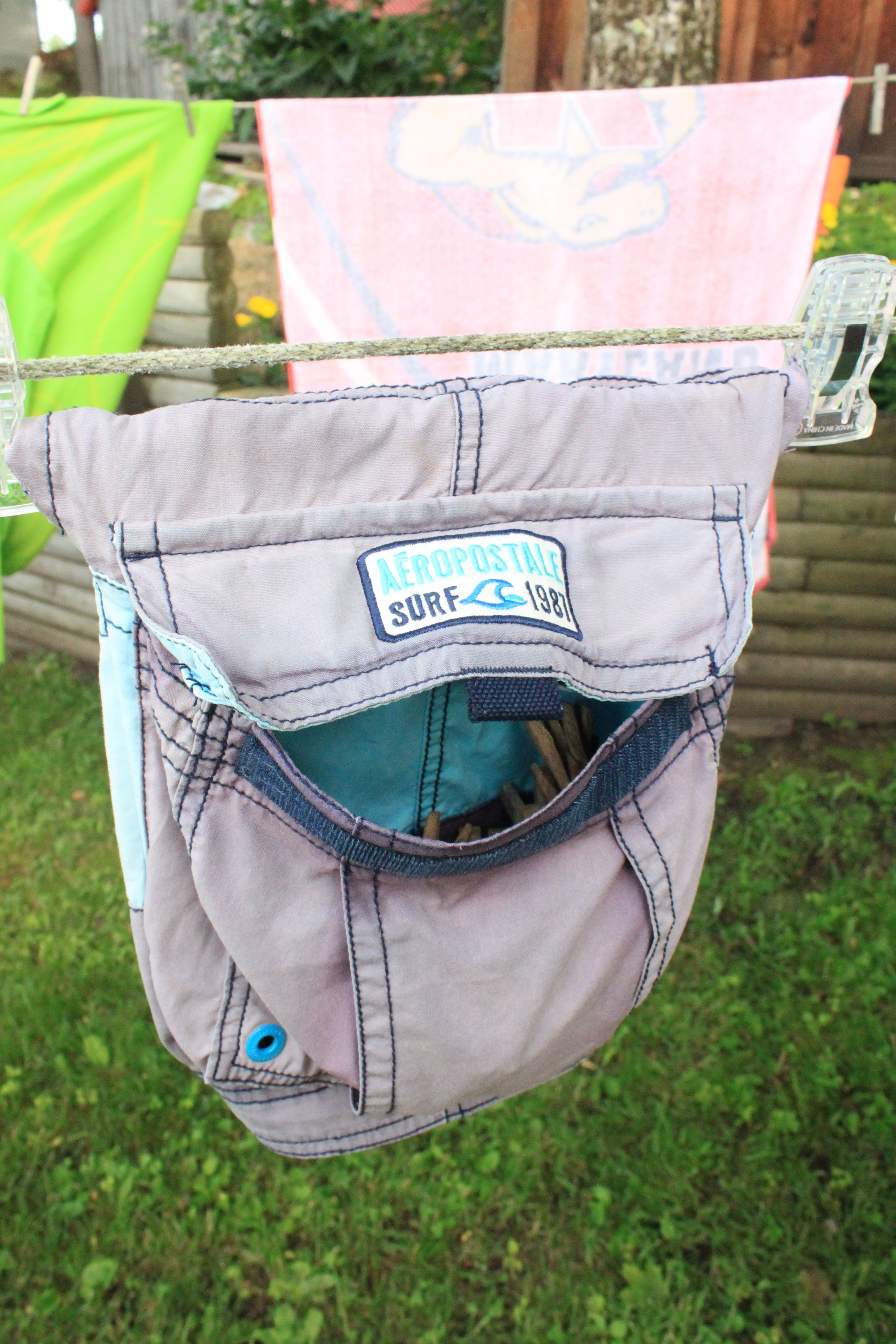 Hottest Totally Free Brians Cargo Aeropostale swimsuit changed into a clothes pin holder at the lake Suggestions You know conventional garments hangers that you will real...