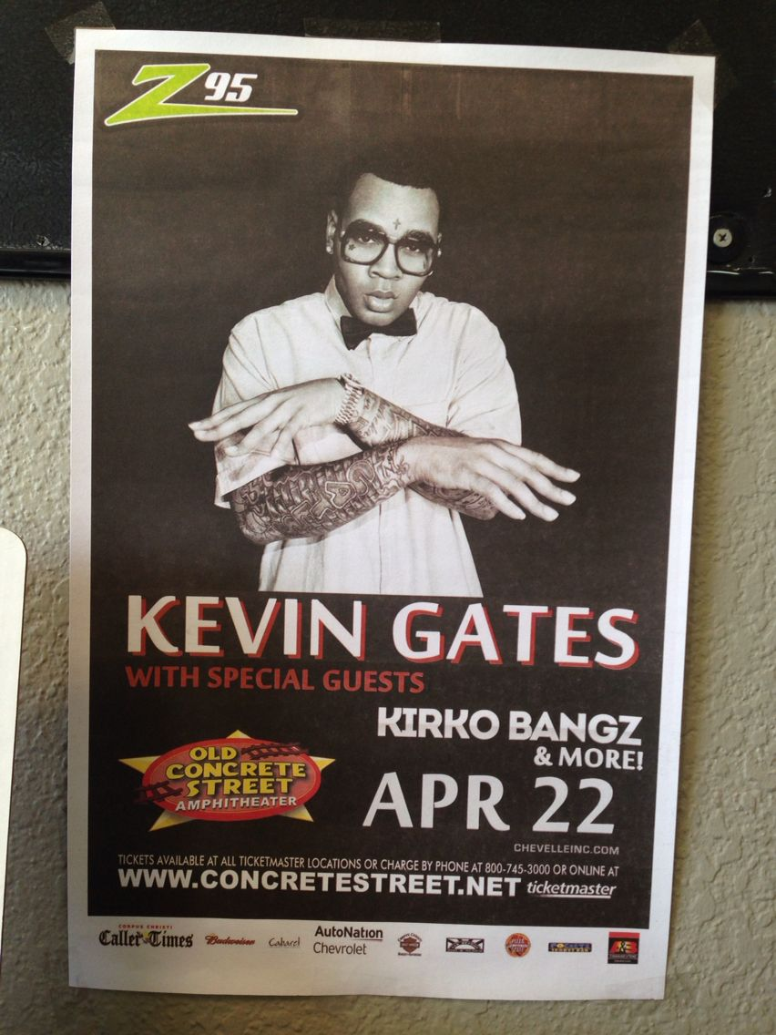 Kevin gates tickets anyone??!!! Come in today and sign up for your chance to win a pair of tickets for the show on Friday!!! #breatheinvapeout #concretestreet #kevingates #kirkobangz