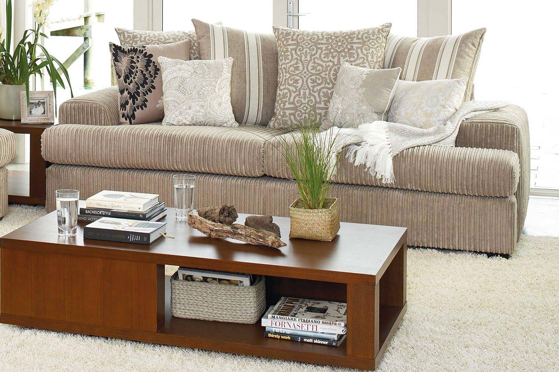 capone 3 seat sofa - fabric - furniture haven | harvey norman new