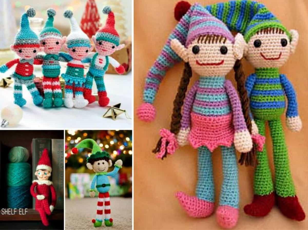 Crochet Christmas Ornaments Free Patterns | Adornos y Navidad