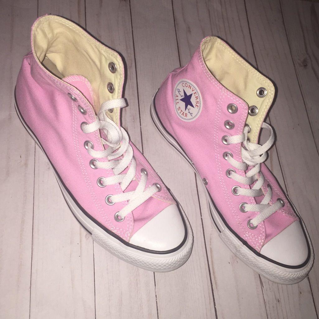 Espíritu Cúal Suplemento  Baby Pink Converse | Pink converse, Converse, Womens converse