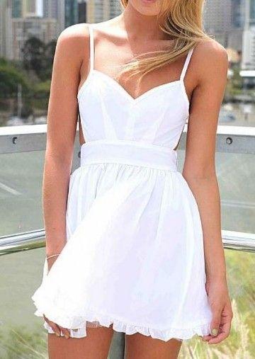 Vestidos ibicencos cortos de novia