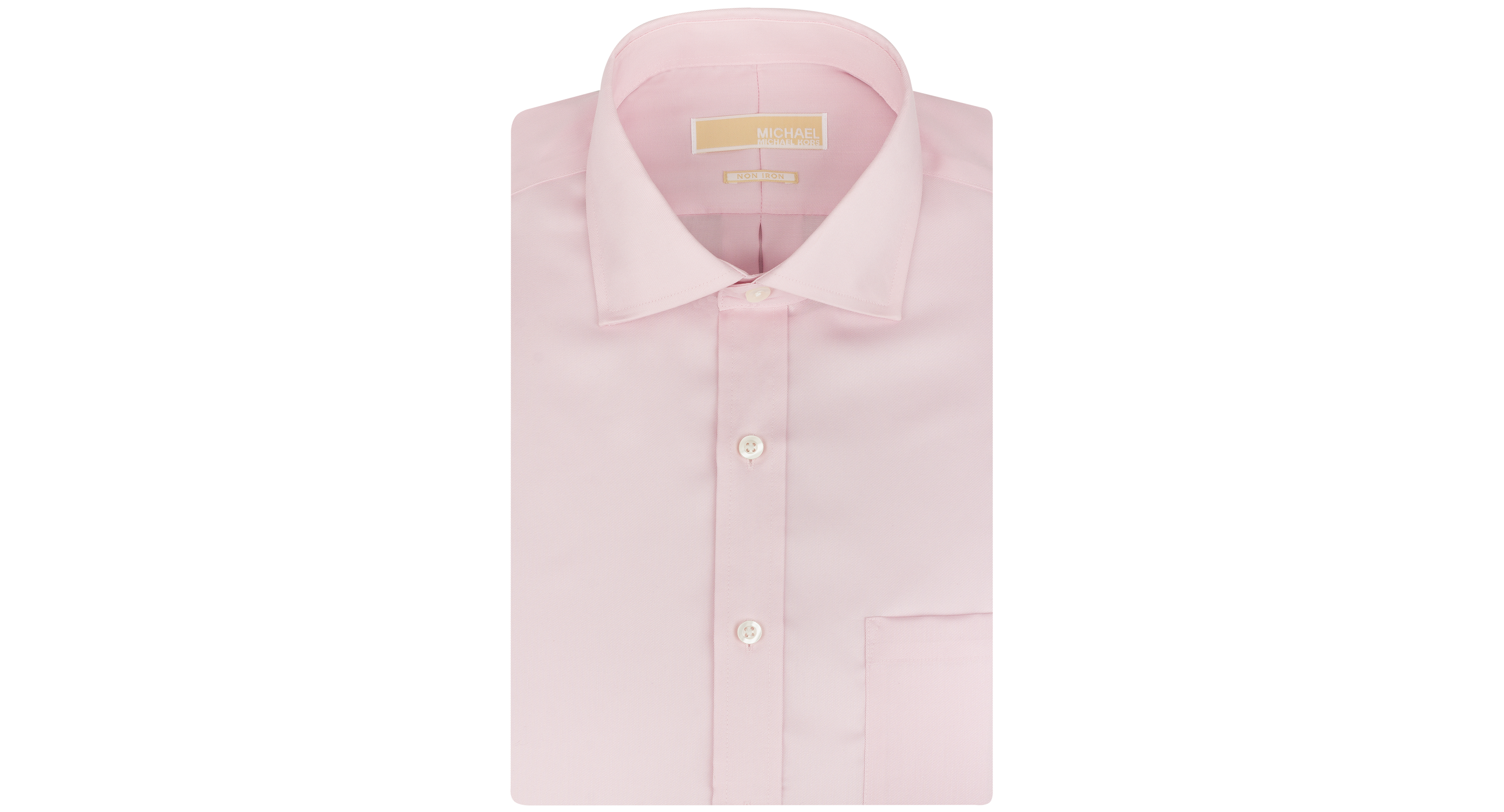 Michael Michael Kors Non-Iron Twill Solid Dress Shirt
