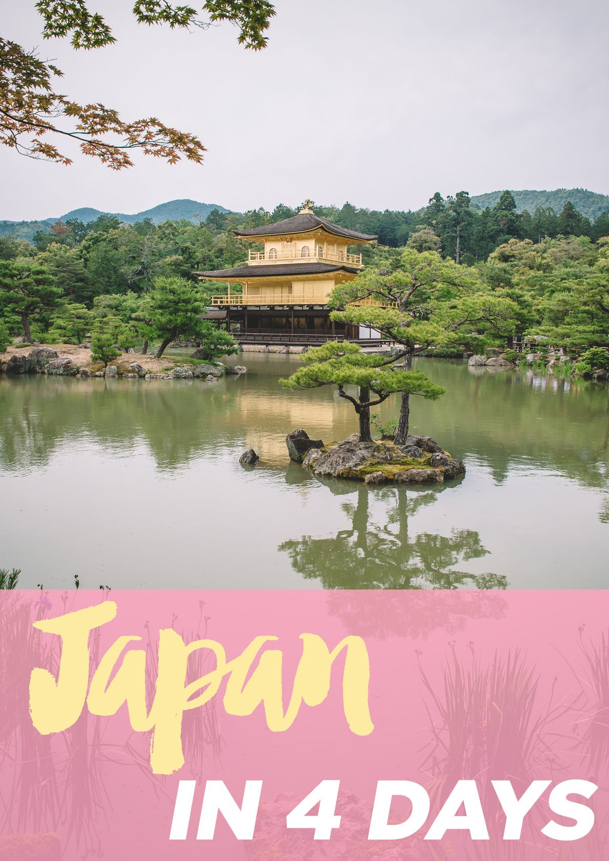 Visiting 5 cities in Japan in 4 days