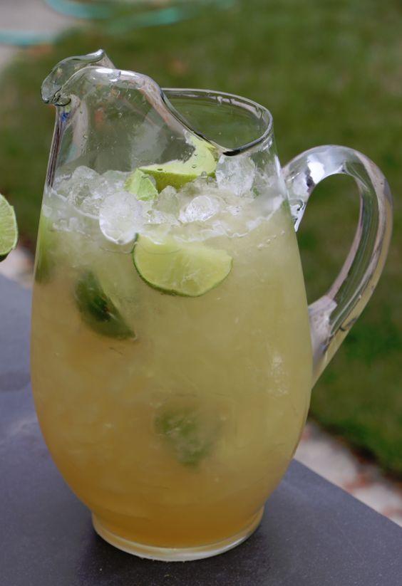 Super Easy To Make Beer Margaritas Beer Margarita Beer Margarita Recipe Beer Recipes