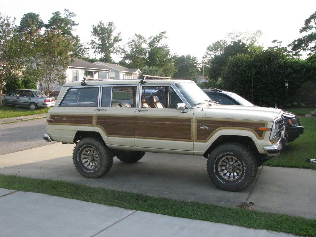 White Jeep Wagoneer >> Wagoneer Lift Kit | The Wagon