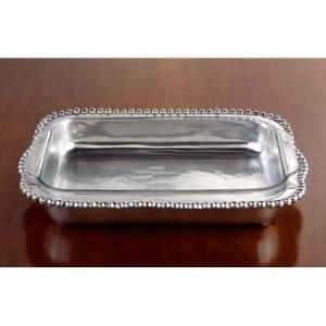Serving Pieces BEADED LARGE CASSEROLE from Barbara Stewart Exclusives in Bowling Green, KY from Barbara Stewart Interiors