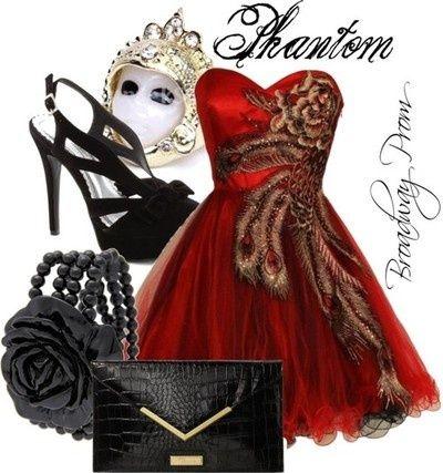 Phantom of the Opera Prom Dress