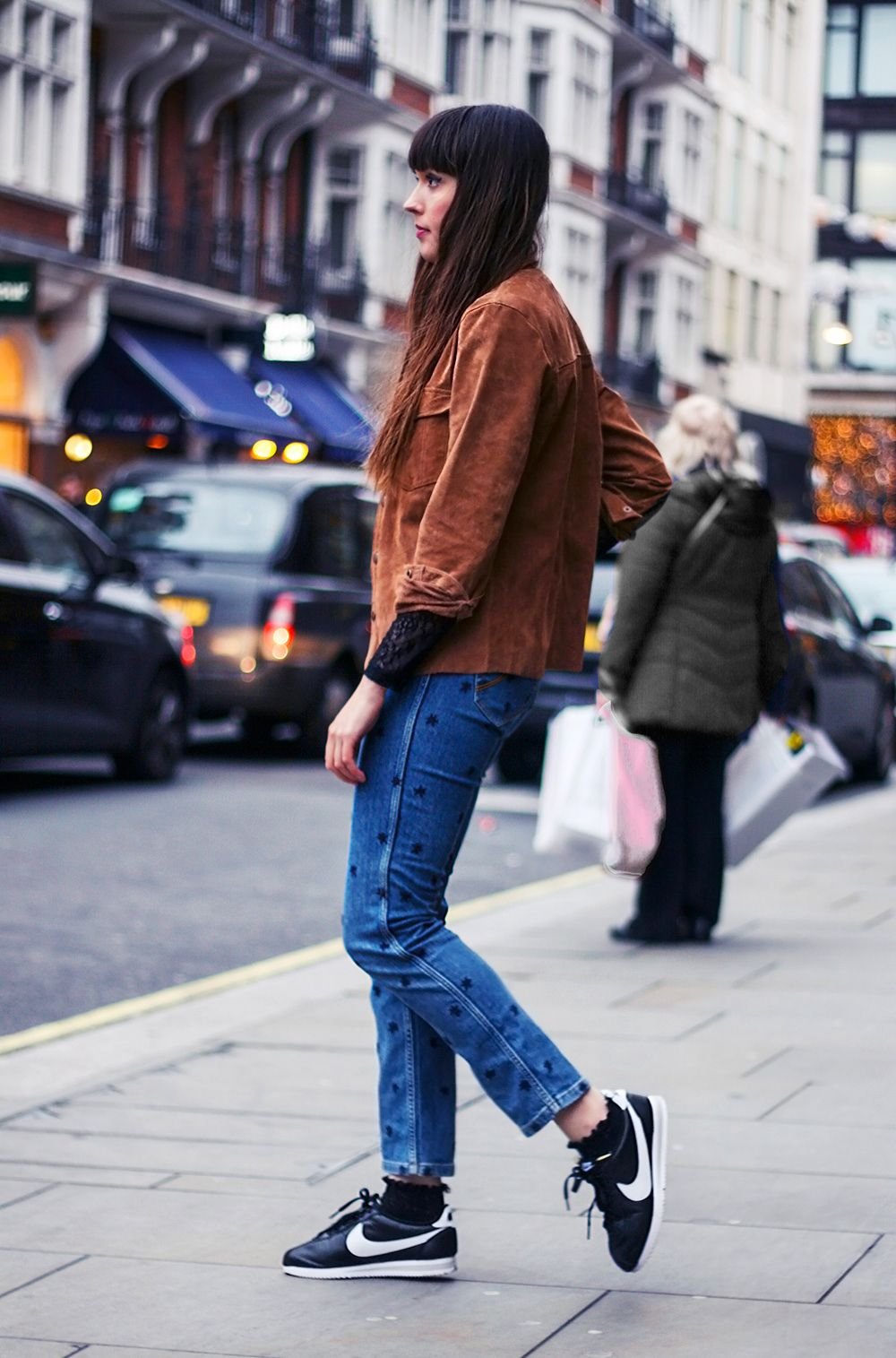 9e33ed883d1 maje-star-jeans-adpt-suede-top-selected-femme-lace-top-nike-cortez-trainers-outfit-9