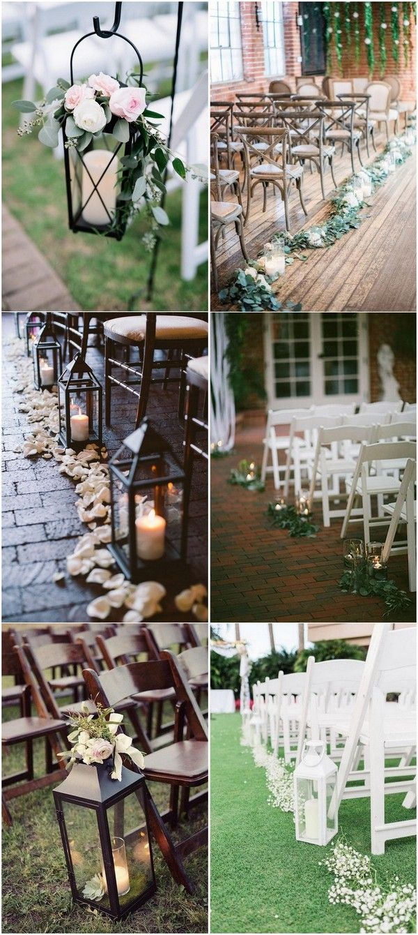 Garden wedding decoration ideas   Trending Wedding Aisle Decoration Ideas Youull Love  Page  of