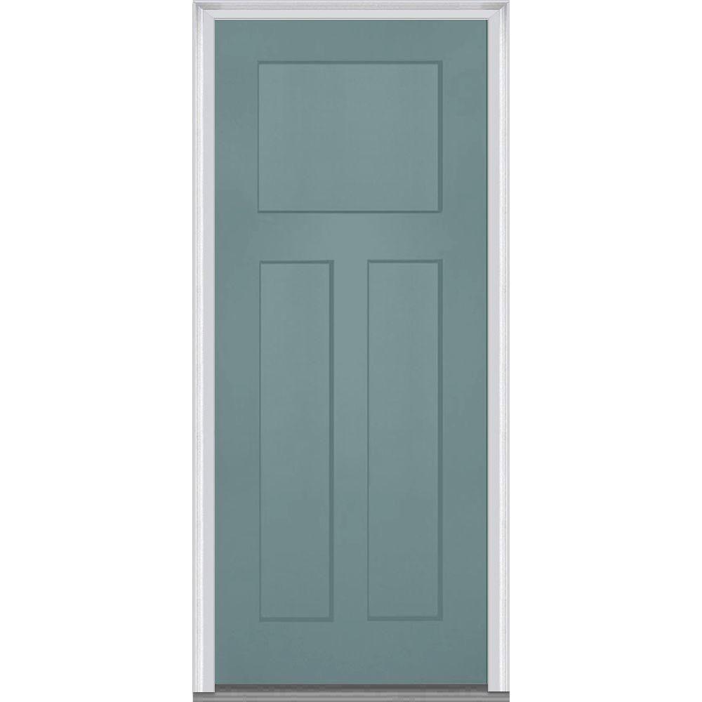 3 Panel Shaker Exterior Door