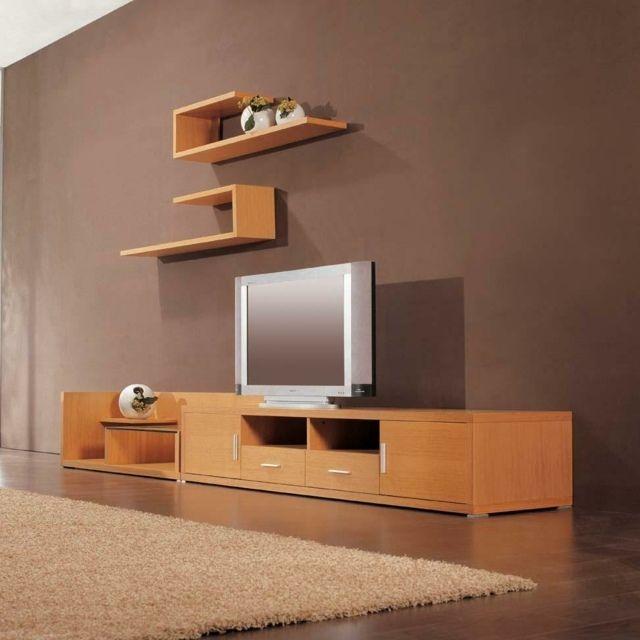 Meuble Tv Design Bois Meuble Tv Design Mobilier De Salon
